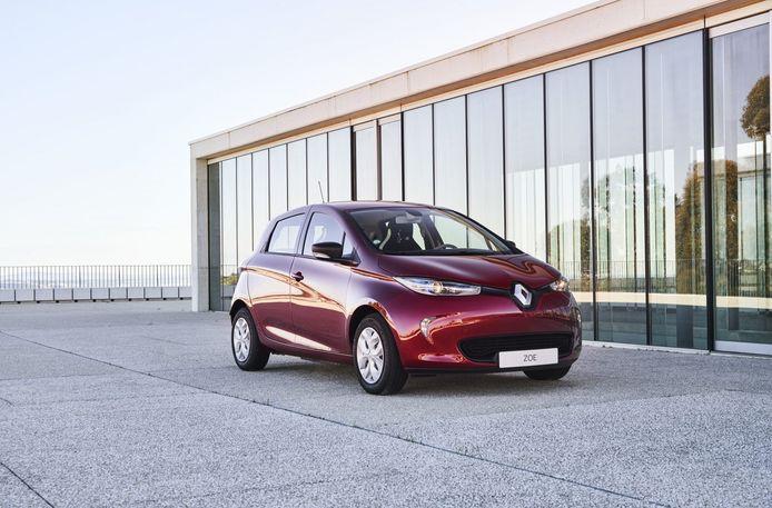 Renault Zoe van de eerste generatie
