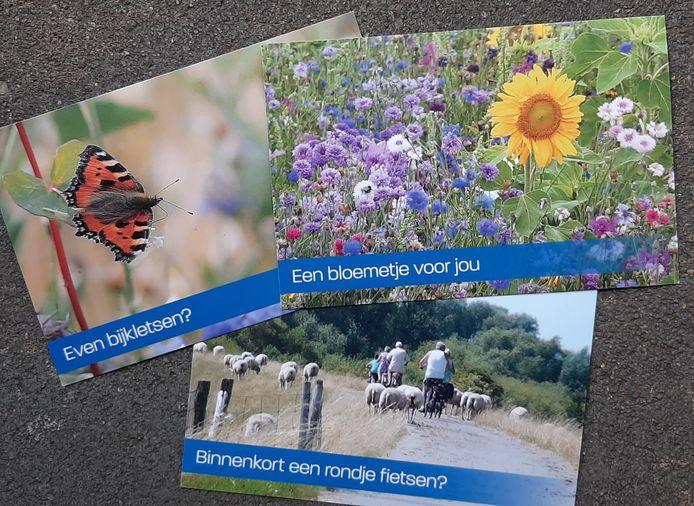 Ansichtkaarten met geluksmomentjes van gemeente Drimmelen