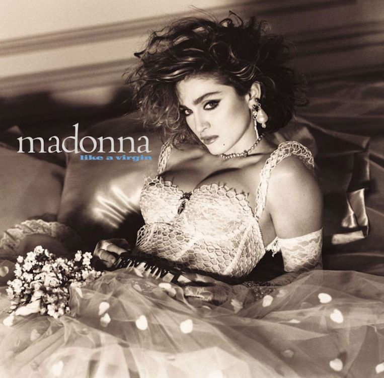 Madonna – Like a Virgin Beeld