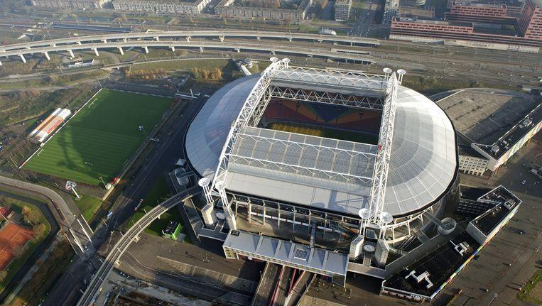 Luchtfoto van de Amsterdam ArenA Beeld anp