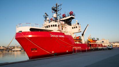Nieuw reddingsschip van Europese ngo's vaart uit op Middellandse Zee