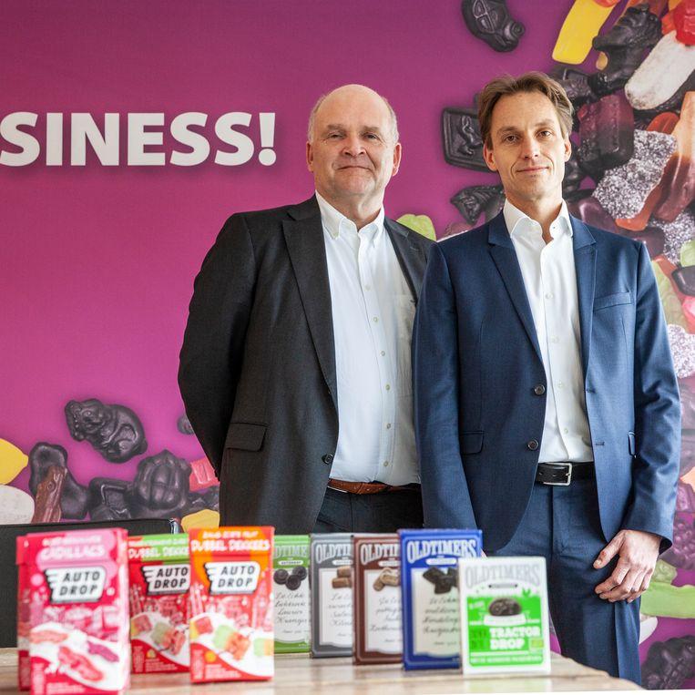Algemeen directeur Thijmen Peter de With (links) en commercieel directeur Jeroen van Dongen. Beeld Harry Cock / de Volkskrant