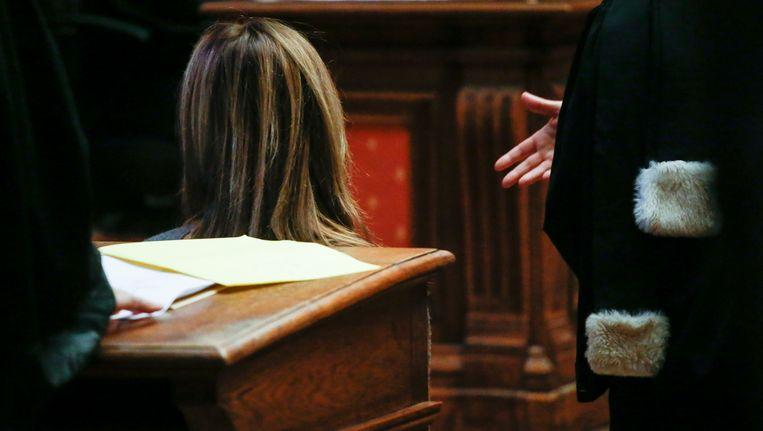 Sophie E., CEO van Sterop bij de start van het proces. Beeld belga