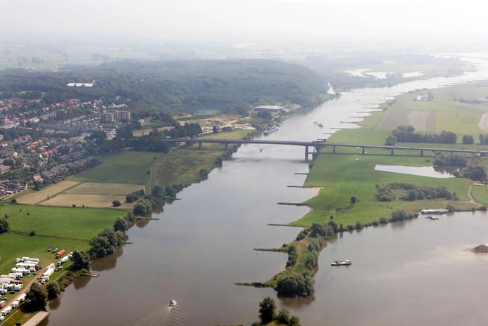 De Rijnbrug bij Rhenen.