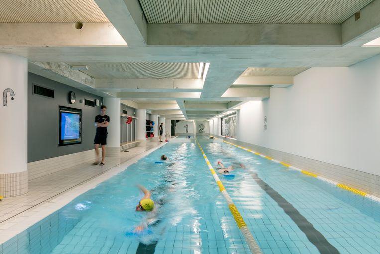 Zwembadondernemers werden flink getroffen door de coronacrisis: ze konden slechts 9 procent besparen op hun kosten. Beeld Marcel van der Burg