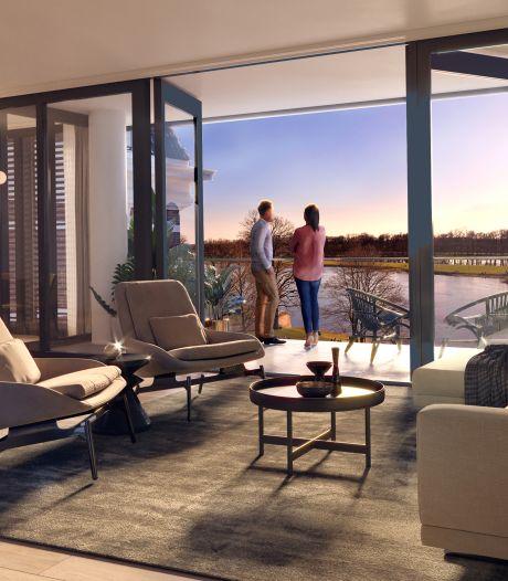 Op de 'mooiste plek van Deventer' komen nu appartementen: 'Dit was de geheime kamer van de directeur'