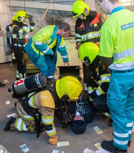 Honderdjarige brandweer Zaltbommel zet wedstrijdploegen flink aan het werk