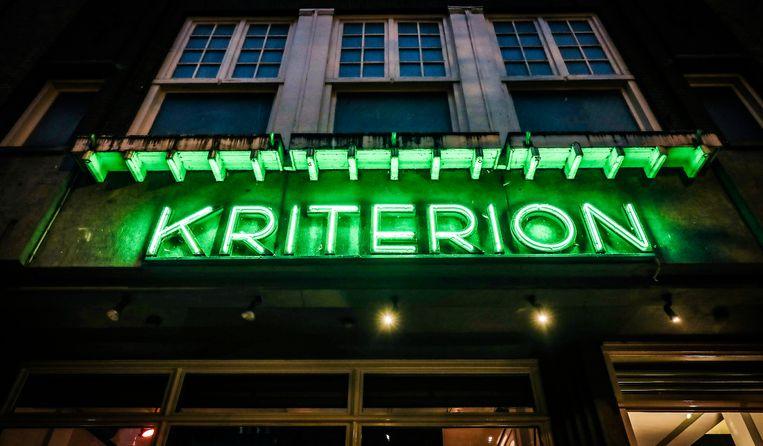 Op de dag dat Kriterion eigenlijk zijn 75-jarig jubileum zou vieren, opent het filmtheater online de discussie over de coronacrisis. Beeld ANP Kippa