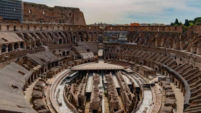 Het Colosseum in Rome krijgt opnieuw een vloer