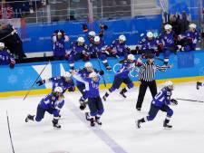 IJshockeysters VS pakken goud na zinderende finale