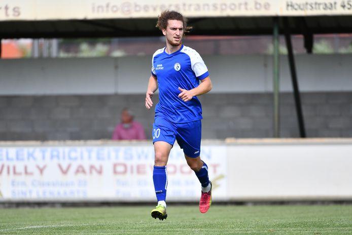 Lorenzo Matarrese kwam vorige zomer naar Rupel Boom en toont zich heel ambitieus.