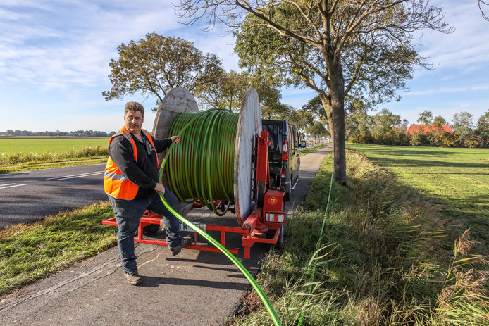 Eerder startte al de aanleg van glasvezel in het buitengebied van Steenwijkerland.
