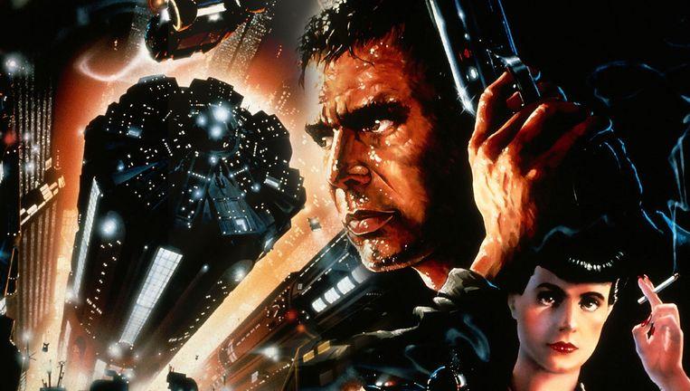 Affiche van Ridley Scotts eighties-klassieker 'Blade Runner'. Beeld RV