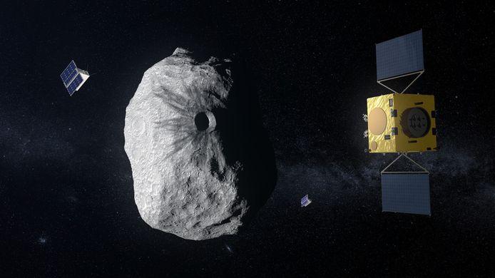 In 2016 moet de sonde Hera gaan inspecteren wat het resultaat van de Dart-missie is geweest