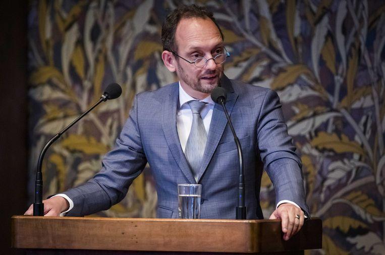 Ruard Ganzevoort van GroenLinks is voorzitter van de parlementaire onderzoekscommissie effectiviteit antidiscriminatiewetgeving.  Beeld ANP