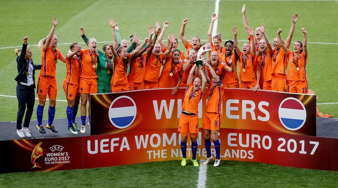 De Leeuwinnen werden in 2017 Europees kampioen.