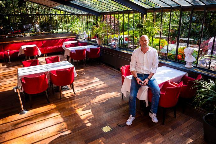Wim Van Der Borght in restaurant Danieli Il Divino.