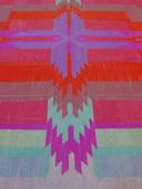 'Straw Carpet', van We Make Carpets uit 2014, Delft, gemaakt van duizenden rietjes.