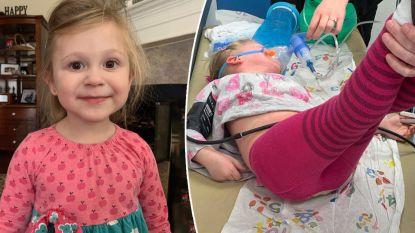Moeder deelt beelden van hoe dochter extreme allergische reactie krijgt. Om andere ouders te waarschuwen