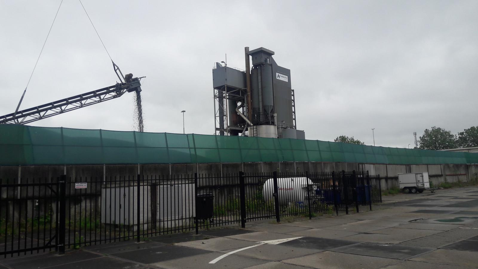 De centrale van AsfaltNu aan de Veemarktkade in Den Bosch.