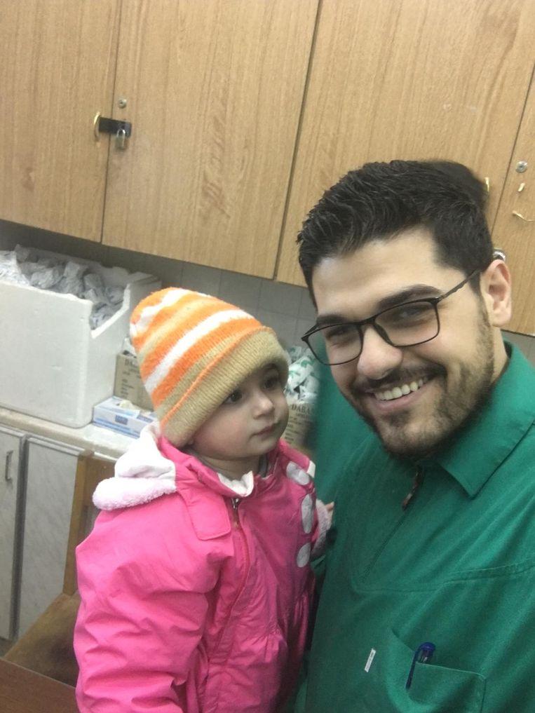 Ahmad Mohammed in het ziekenhuis van Damascus. Beeld Privéarchief Ahmad Mohammed