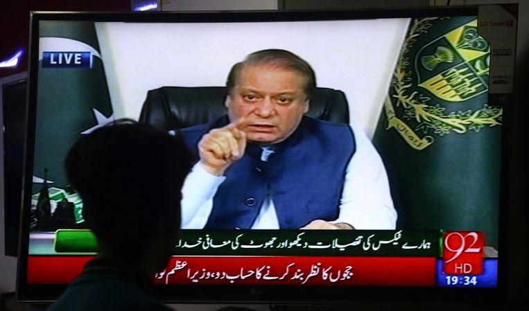null Beeld Nawaz Sharif. EPA