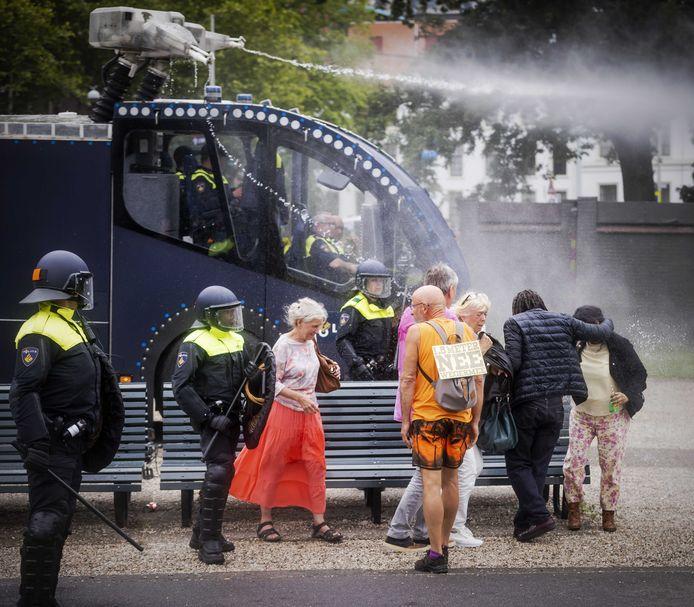 De demonstratie van afgelopen zondag op het Malieveld.