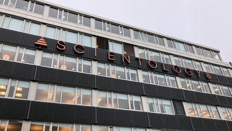 Het nieuwe pand van Scientology aan de Wibautstraat Beeld