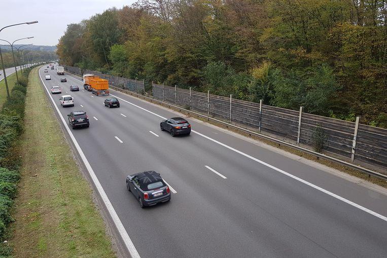 De chauffeur haalde snelheden tot meer dan 200 kilometer per uur op de Brusselse Ring.