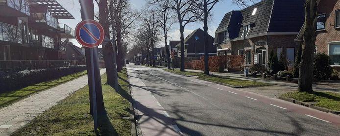 Verkeersaanpassingen Stoutenburgerlaan in Hoevelaken