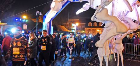 1050 deelnemers aan Hulst By Light run