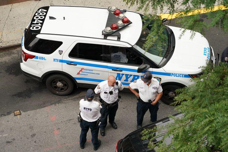 Archiefbeeld van politie van New York. Beeld Photo News