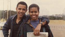 Barack Obama deelt prachtige oude foto voor 55ste verjaardag Michelle