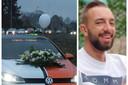 Tuningvrienden brachten eerder al hulde aan hun overleden vriend Jordy 'Fwoortn' Dufoort.