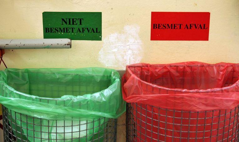Er is geen gevaar voor de omgeving, benadrukt het RIVM. Foto ANP/Koen Suyk Beeld