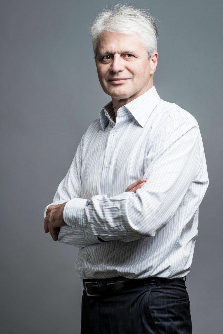 Sebastian Roché, politicoloog en politiespecialist. Beeld Pacte