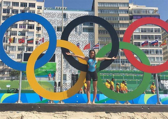 Claire Michel à Rio
