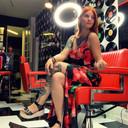 Jadin Alysson in haar gloednieuwe barbershop