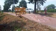 'Pas op' moet waarschuwen voor door hitte getroffen fietspad