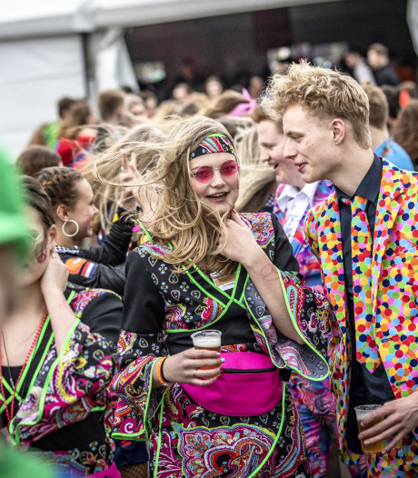 14.000 carnavalsvierders in Albergen: 'We kunnen zo overdrijven met weercodes'