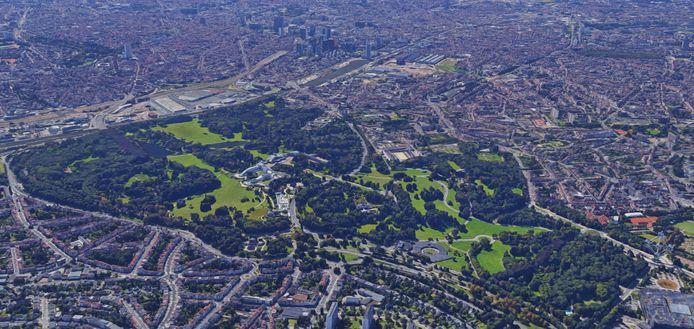 Koninklijk Park in Laken