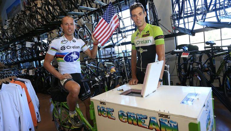 Crélan-Euphony stopt met sponsoring van de wegploeg, maar zal wel nog Sven Nys en Sven Vanthourenhout ondersteunen Beeld PHOTO_NEWS