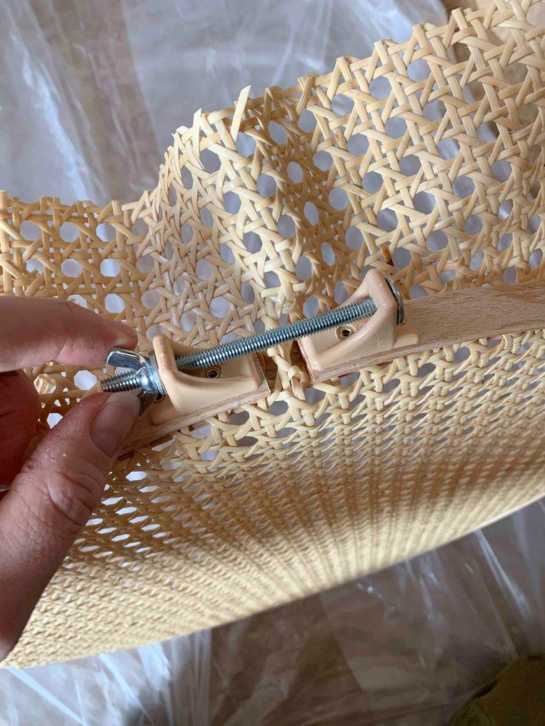 DIY rotanlamp Beeld DIY: Janneke Peters