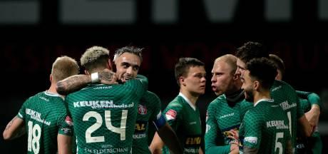FC Dordrecht ook tegen Sparta onderuit in eigen huis