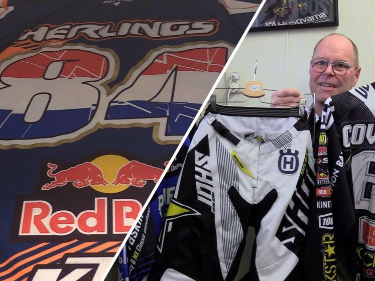 Kees-Jan verzamelt alles van motorcross: 'Mijn hobbykamertje is te klein geworden'