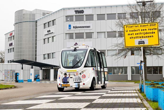 Proef met zelfrijdende minibus in Helmond