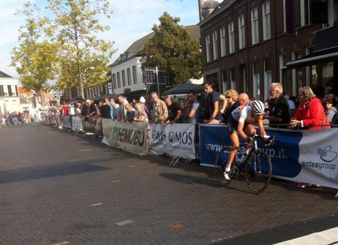 Hartthijs de Vries onderweg naar de overwinning.