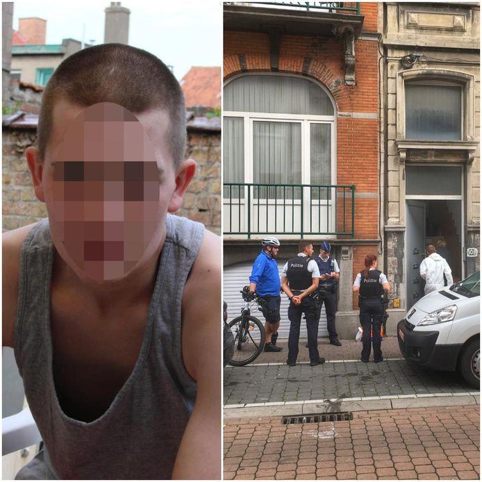 Tommy Jonckheere (l) bracht drie jaar geleden z'n vriend om het leven in z'n appartement in Oostende (r).