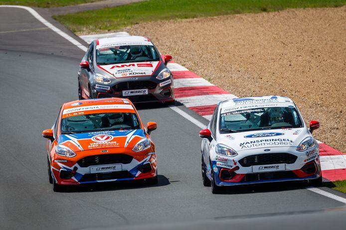 De strijd in de Fiesta Sprint Cup is een Brabantse aangelegenheid.