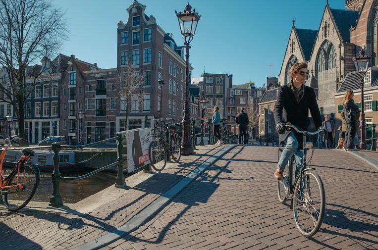 Amsterdam kan zich opmaken voor een paar zonnige dagen. Beeld Shutterstock